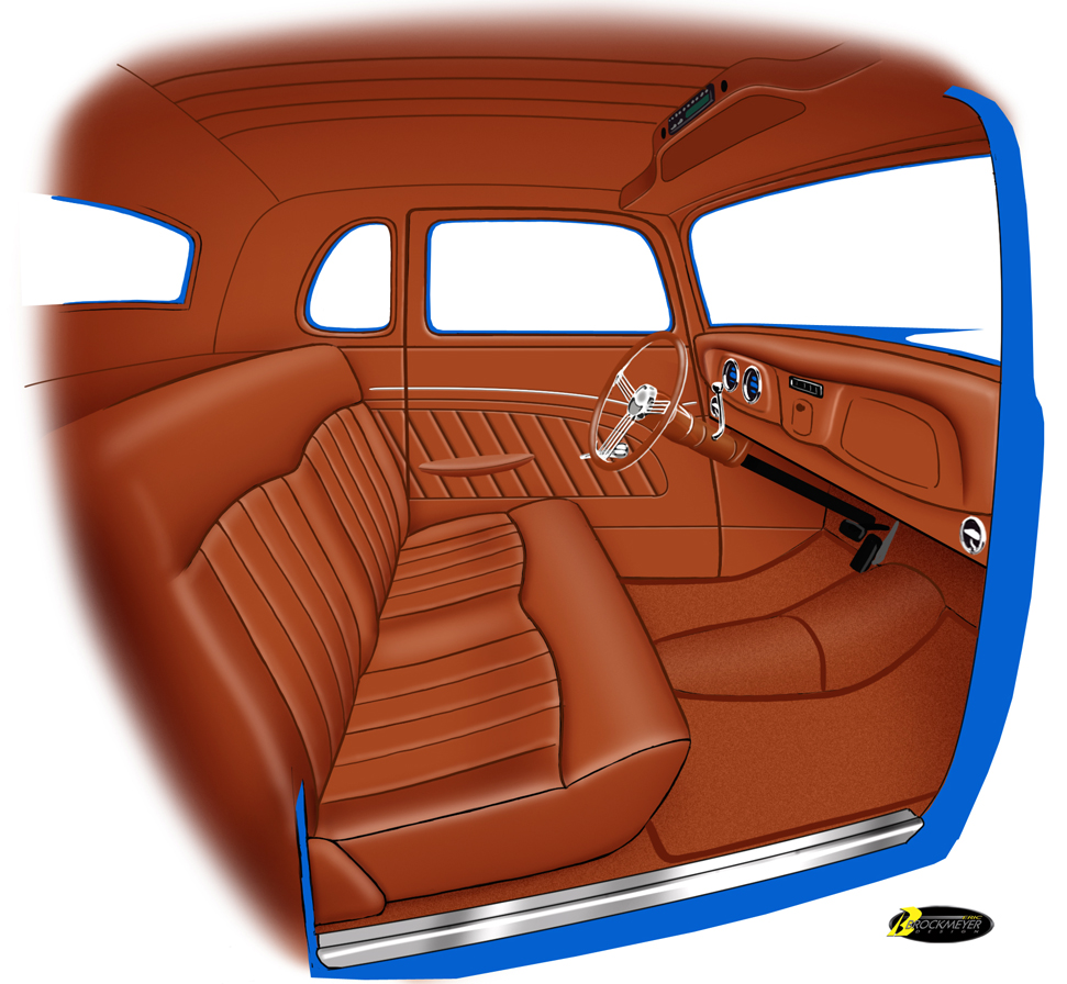 1934 ford coupe webers custom interiors. Black Bedroom Furniture Sets. Home Design Ideas