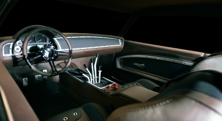 muscle car interiors webers custom interiors. Black Bedroom Furniture Sets. Home Design Ideas
